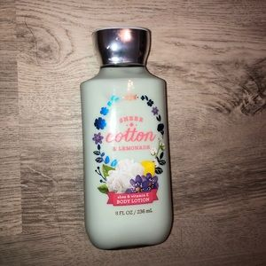 Sheer Cotton & Lemonade Bath & Body Works Lotion